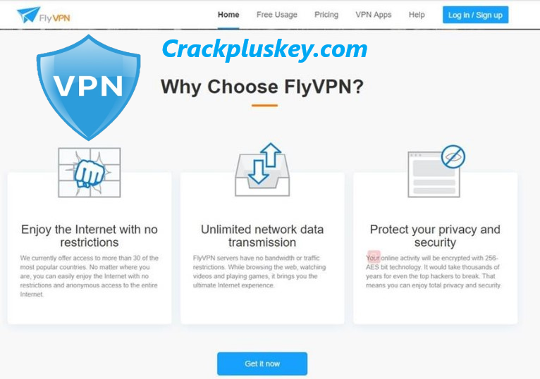 FlyVPN Crack For APK Download